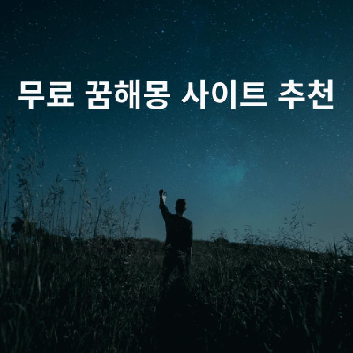 꿈해몽 사이트