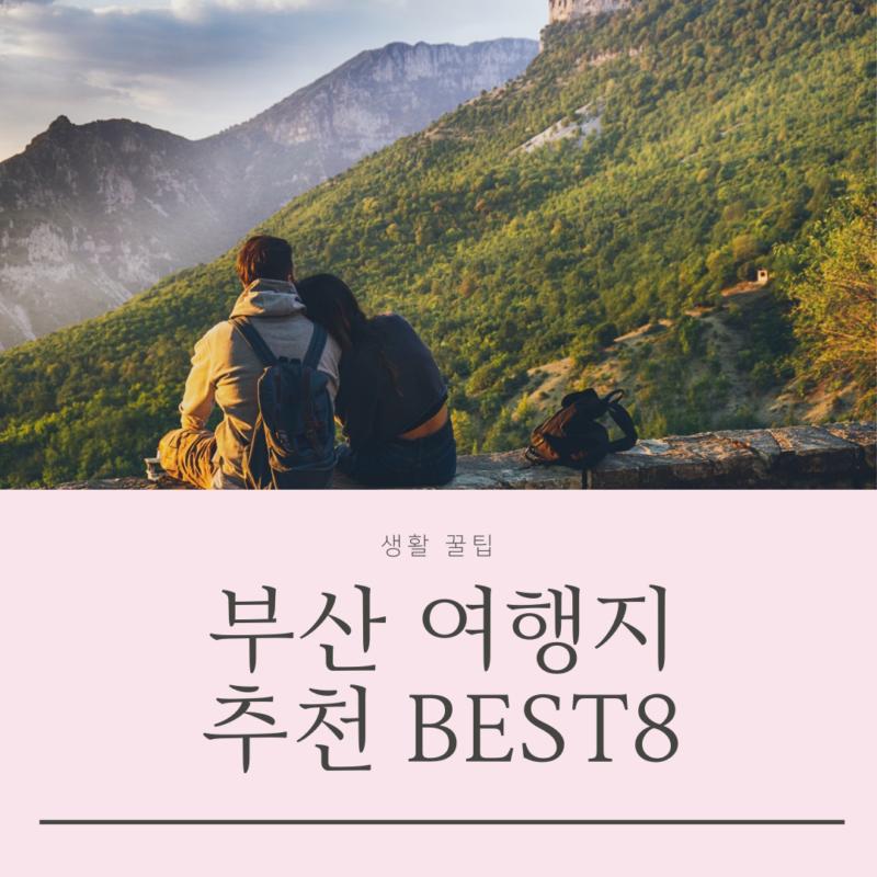 부산 여행지 추천