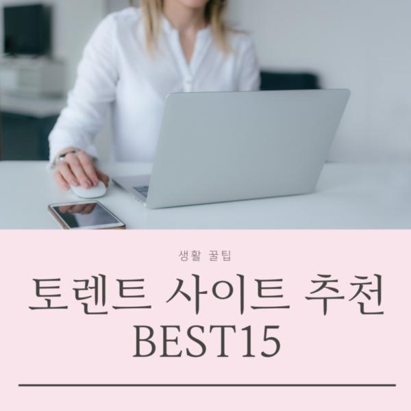 토렌트 사이트 추천 순위 BEST15